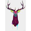 Maxwell Dickson Elks Graphic Art on Wrapped Canvas