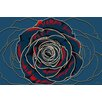Maxwell Dickson Rose Graphic Art on Canvas
