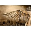 Maxwell Dickson Los Angeles 'City of Angels' Graphic Art on Wrapped Canvas