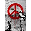 Maxwell Dickson Time 4 Peace Original Painting Print on Canvas