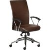Borgo Rete High-Back Leather Executive Chair with Arms