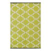 Green Decore Solitude Celery Green Indoor/Outdoor Area Rug