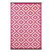 Green Decore Nirvana Pink Indoor/Outdoor Area Rug