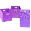 Modern Littles Color Pop Solid 3 Piece Organization Bundle Set