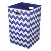 Modern Littles Chevron Folding Hamper