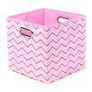 Modern Littles Rose Zig Zag Folding Storage Bin