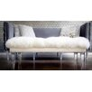 TOV Furniture Luxe Acrylic Bedroom Bench