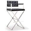 "TOV Furniture Director 43"" Bar Stool with Cushion"