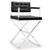 "TOV Furniture Director 39"" Bar Stool with Cushion"