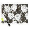 KESS InHouse Protea by Gill Eggleston Flowers Cutting Board