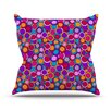 KESS InHouse My Colourful by Julia Grifol Throw Pillow