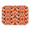 KESS InHouse Orange Swirl Kiss Placemat