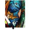 KESS InHouse Fathoms Below Mermaid Cutting Board