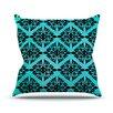 KESS InHouse Eye Symmetry Pattern Throw Pillow