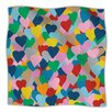 KESS InHouse More Hearts Throw Blanket