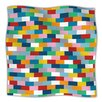 KESS InHouse Bricks Throw Blanket