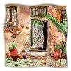 KESS InHouse Tuscan Door Throw Blanket
