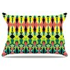 KESS InHouse Triangle Visions Pillowcase