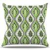 KESS InHouse Oak Leaf by Jacqueline Milton Floral Throw Pillow