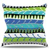 KESS InHouse Salsa by Jacqueline Milton Throw Pillow