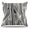 KESS InHouse Graphique by Emine Ortega Throw Pillow