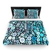 KESS InHouse Aquatic by Sylvia Cook Woven Duvet Cover