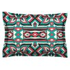 KESS InHouse Ethnic Floral Mosaic by Pom Graphic Design Pillow Sham