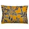 KESS InHouse Golden Blossom by Vikki Salmela Pillow Sham