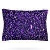 KESS InHouse Purple Dots by Maynard Logan Pillow Sham