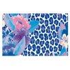 KESS InHouse Leopard Doormat