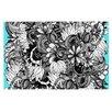 KESS InHouse Blumen Doormat