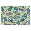 KESS InHouse Sneaker Lover IV Doormat