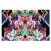 KESS InHouse Herz Floral Doormat