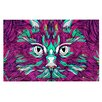 KESS InHouse Space Cat Doormat