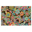 KESS InHouse My Butterflies and Flowers Doormat
