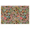 KESS InHouse Deco My Butterflies & Flowers Doormat