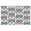 KESS InHouse Spectacles Geek Chic Doormat