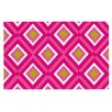 KESS InHouse Deco Moroccan Tile Doormat