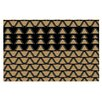 KESS InHouse Deco Angles Doormat