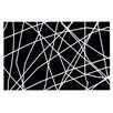 KESS InHouse Deco Paucina Crazy Lines Doormat