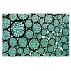 KESS InHouse Blooming Trees Circles Doormat