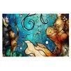 KESS InHouse Under the Sea Mermaids Doormat