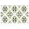 KESS InHouse Lime Rainforest Doormat