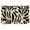KESS InHouse Feather Pattern Doormat