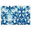 KESS InHouse Winter Mountains Doormat