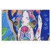 KESS InHouse Addy Mae Pug Terrier Doormat