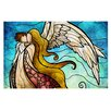 KESS InHouse In the arms of the Angel Doormat