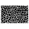 KESS InHouse British Mosaic Geometric Doormat