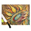 KESS InHouse Sunflower by Brienne Jepkema Flower Cutting Board