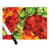 KESS InHouse One Love by Claire Day Cutting Board